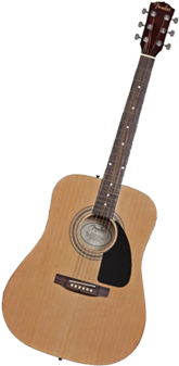 Fender FA-100 Dreadnought Acoustic Guitar with Gig Bag – Natural - Best Beginner Guitar