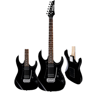 Ibanez GRX20ZBKN Electric Guitar, Black - Best Electric Guitars
