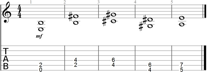 Play a Limited Set of Chords