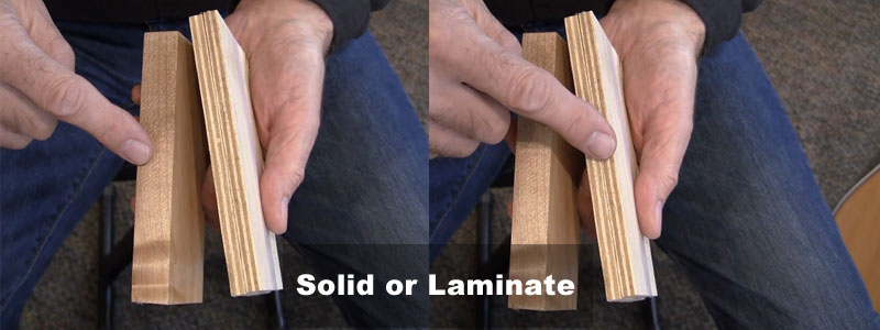 Solid or Laminate