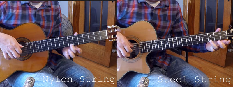 Steel or Nylon Strings