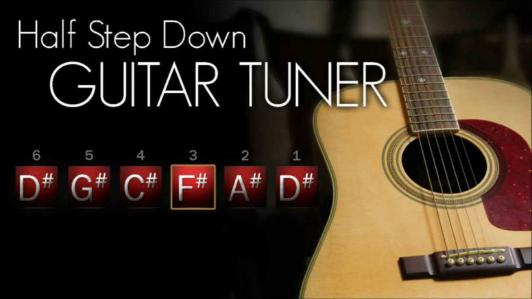 Tune a Guitar step