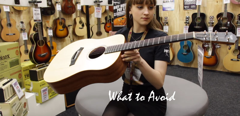 What to Avoid When Buying a Guitar?