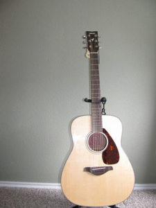The beauty of Yamaha FG700S Acoustic Guitar