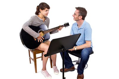 First guitar lesson for Absolute Super Beginner 2015