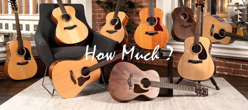 How Much Should I Pay for a Beginner Guitar?