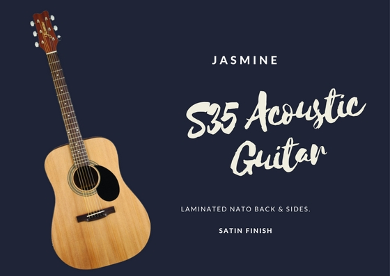 Why do I like Jasmine S35 Acoustic Guitar?
