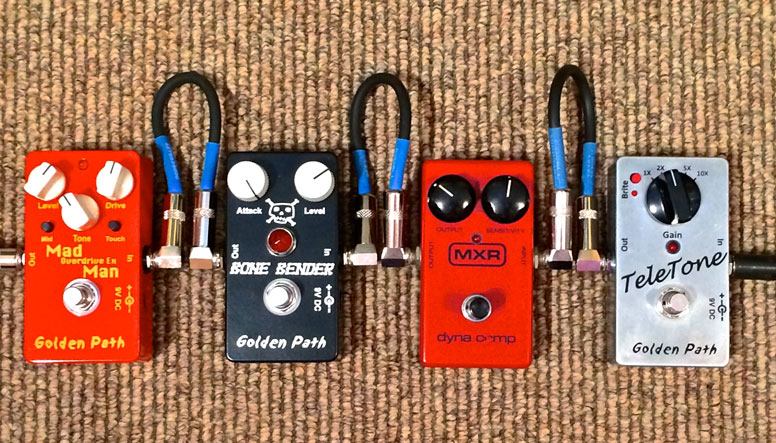 Have a well-organized pedal board
