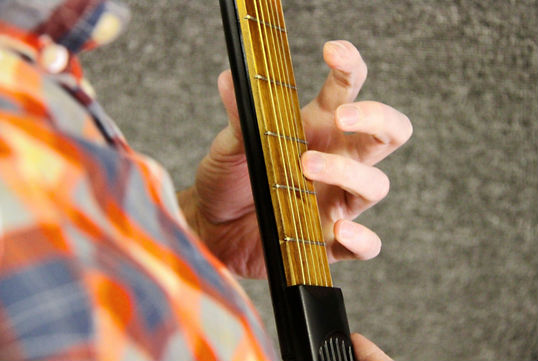 PocketStrings Guitar Black 6-Fret