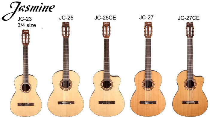 jasmine jc guitars