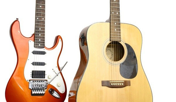 Acoustic Guitar or Electric Guitar