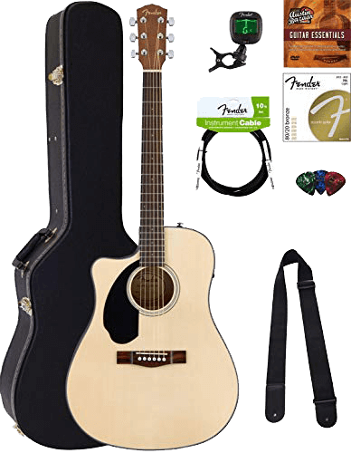 Fender CD-60SCE Left-Handed