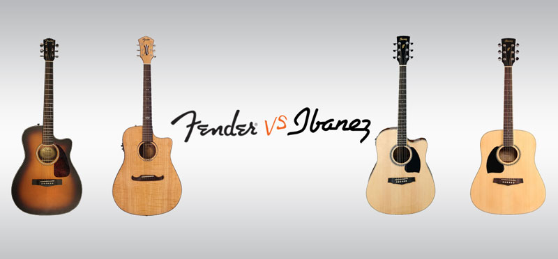 Fenders VS. Ibanez