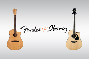 Fenders VS. Ibanez: Which is for you?