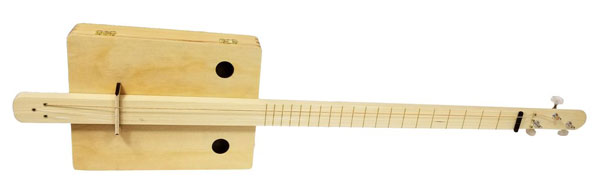 Complete Pure & Simple Cigar Box Guitar Kit
