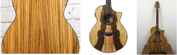 Ibanez Exotic Wood Series