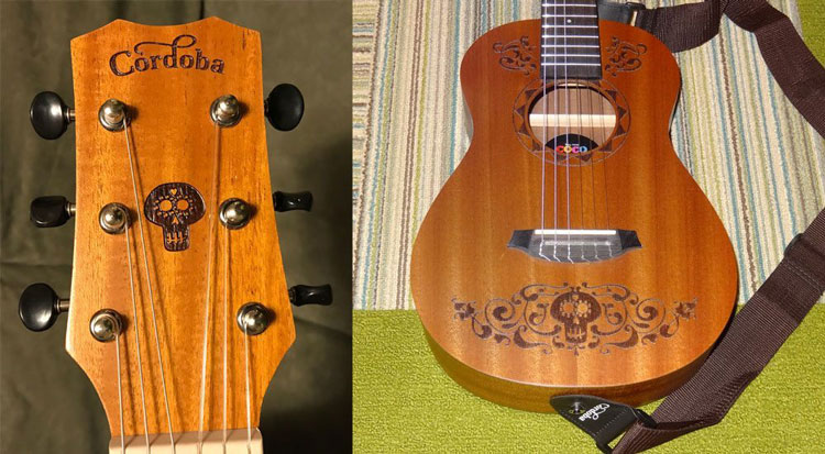 Parts of Coco Acoustic Guitar