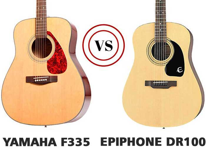 The F335 vs Epiphone DR100