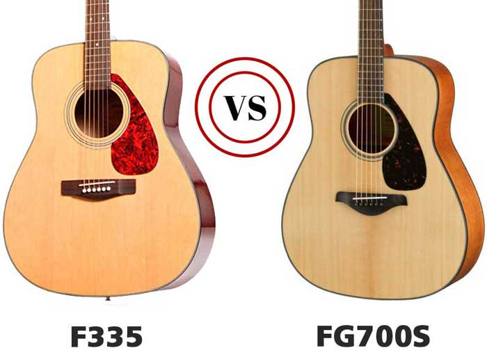 The F335 vs. the FG700s